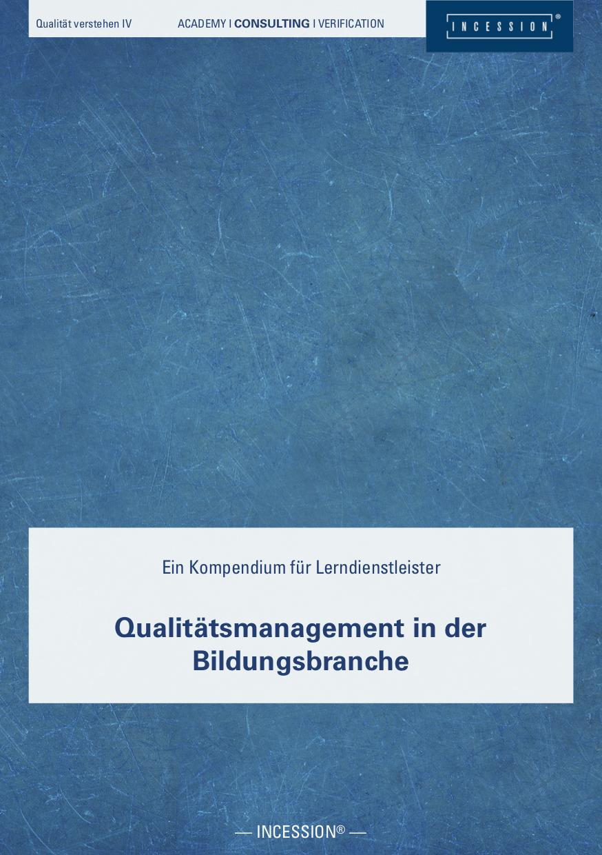 Qualität Verstehen IV – QM In Der Bildungsbranche